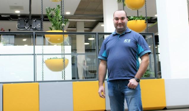 Samir El Messaoudi is verkozen tot ICS medewerker van het kwartaal.