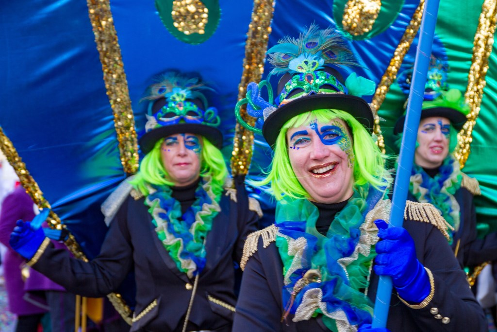 Grolle is 'zo trots als een pauw' op de hoogtijdagen van het carnaval. Einde aan de Grolse wind?