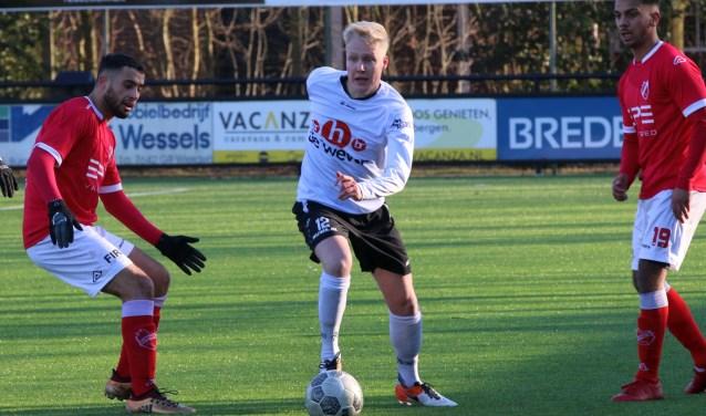 Robin de Jong lukt het met zijnSVZW niet om te winnen van Hierden. Volgende week is er tegen Dronten een nieuwe kans.