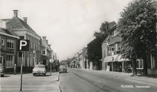 De Haarstraat in 1964.