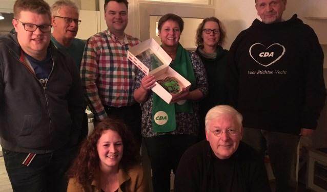 Het campagneteam van CDA Stichtse Vecht
