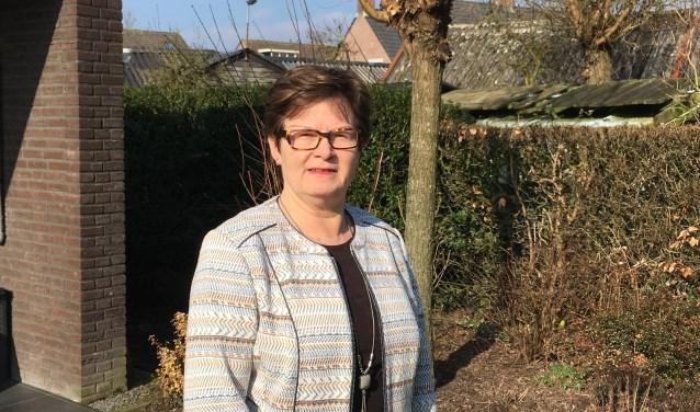 """Ans Beijens uit Helvoirt is de lijsttrekker voor het CDA Haaren bij de gemeenteraadsverkiezingen op 21 maart. Het CDA wil dat er de komende jaren 150 woningen worden gebouwd in Biezenmortel. """"De coöperatie van bewoners in Biezenmortel pakt echt  door, dat vind ik heel knap."""""""