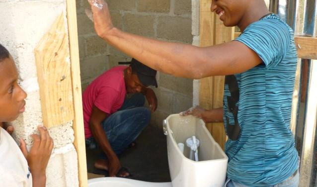 Toilet in El Seibo [Dominicaanse Republiek]