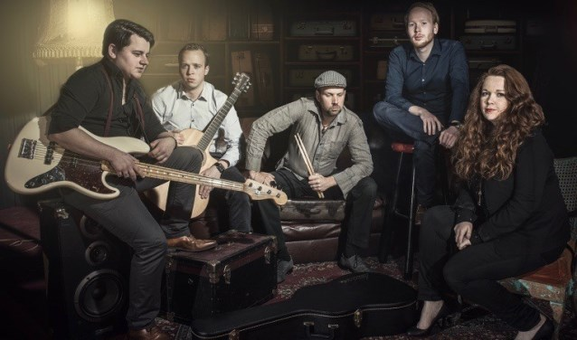 Coverband De Koffers maakt er ongetwijfeld een muzikaal feestje van bij Oudewater Live. (Foto: PR)