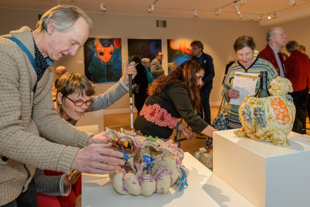 Opening Tentoonstelling Kunst van het Anders Zien Slot  Foto: Hans Lebbe © Persgroep
