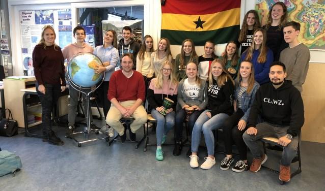 Deze groep leerlingen gaat van 24 maart tot met 2 april naar Ghana voor het goede doel.