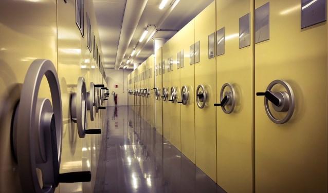Het Regionaal Archief Rivierenland beschikt met dit grootste nieuwe depot over bijna 20 kilometer aan archiefruimte. Dat brengt de groeicapaciteit weer op peil. Foto: Regionaal Archief Rivierenland