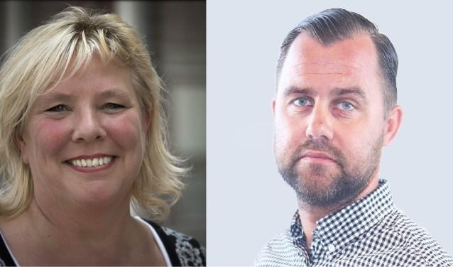 Jacqueline Vonk en Steven Schaao