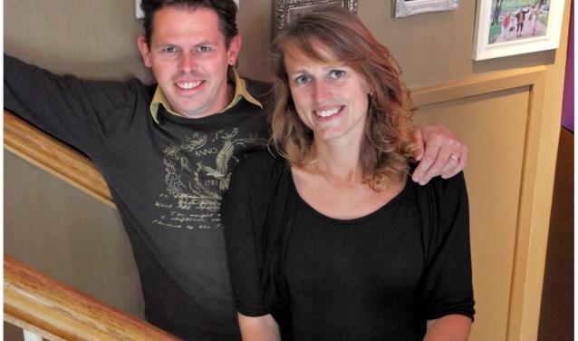 Alex en Saskia Lourier zijn trots dat het restaurant M'n Schoonouders al tien jaar bestaat.