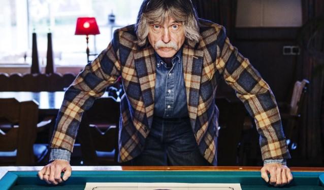 Johan Derksen komt met een nieuw programma: 'Johan Derksen Keeps The Blues Alive''. Dit gaat over zijn passie: de blues. FOTO: KIM BALSTER