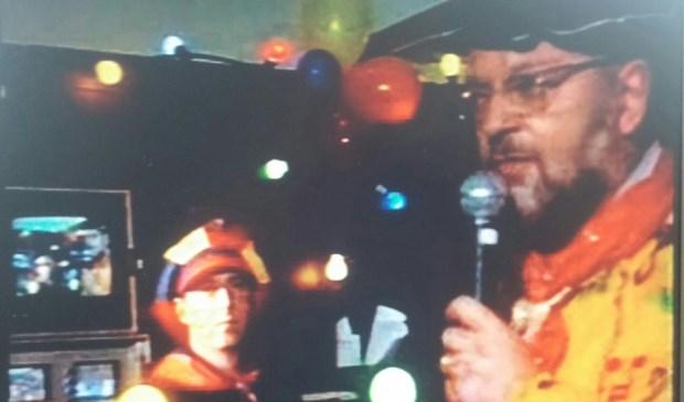 Vanuit de Brasserie bij het NAC stadion in Breda kwamen begin 2000 de uitzendingen van Baronie TV. De techniek.  © Persgroep