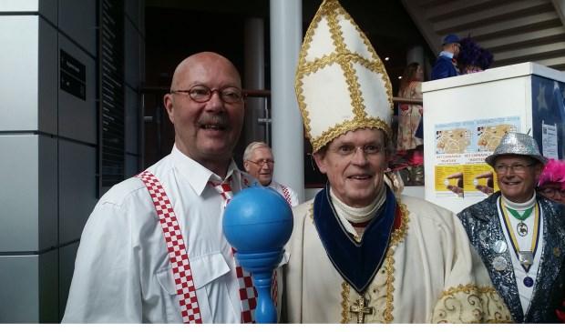 Wijnand Akkerman en paus Johannes CXXX.