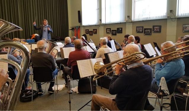 Het DagOrkest van de harmonievereniging groeit, zowel in aantal als in kwaliteit. (Foto: PR)