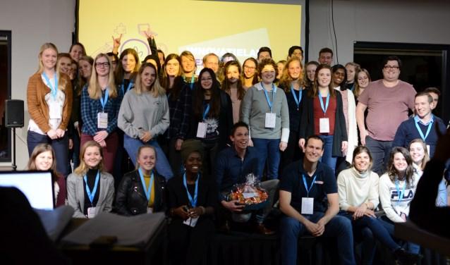 De deelnemers aan het Innovatielab Gezonde Kidsmarketing. (Foto: Daan Westerheide)