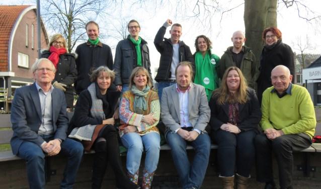 Er zijn heel wat Bennekommers verkiesbaar voor de gemeenteraad. Tijdens het verkiezingsdebat op 7 maart in De Brink geven ze hun mening over Bennekomse zaken (foto Doriet Willemen).