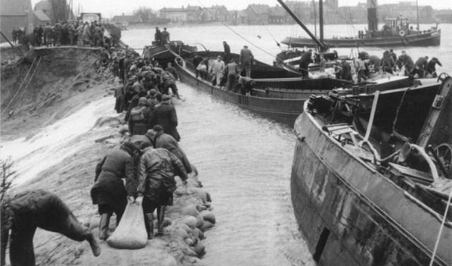 De Watersnoodramp van 1953 trof ook Ouderkerk aan den IJssel.