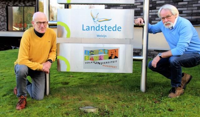 De Volksuniversiteit bestaat 70 jaar. Harry Konings (fotografie) en Beb Kruese (schilderen) gaan een jublileumcursus geven in Veluvine. Foto Dick Baas