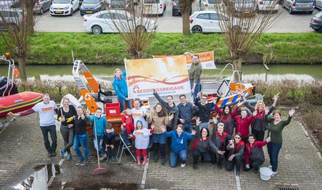 De Redddingsbrigade Hardinxveld-Giessendam doet ook weer mee. (Foto: SHe Fotografie)
