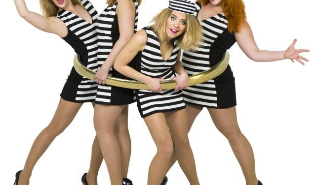 De meiden van LOS (Foto Eva Broekema)