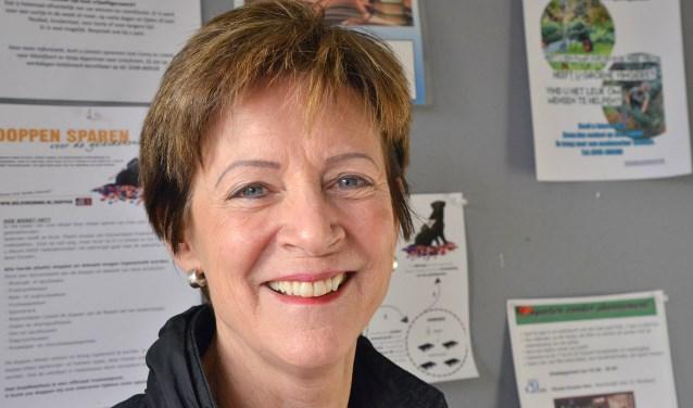 Maria Hamers is sinds 2017 directeur van de Stichting Welzijn Ondersteuning Montfoort/Linschoten (SWOM) heeft bergen werk verzet om de structuur en werksfeer te verbeteren. ''En het is het waard geweest.'' (Foto: Paul van den Dungen)