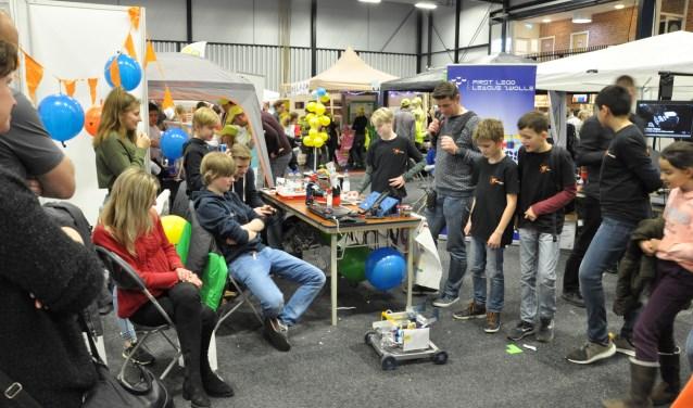Het Dalton Lyceum behaalde de eerste prijs Benelux voor het beste ontwerp van de Robot. (Foto: PR)