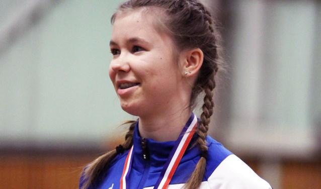 Gerdien werd tweede
