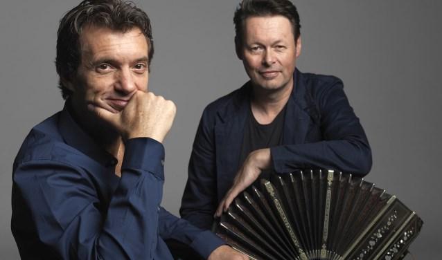 Carel Kraayenhof en Juan Pablo Dobal. Foto: Govert de Roos