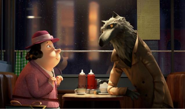 Een scène uit de film 'Gruwelijke rijmen' gebaseerd op het beroemde boek van Roald Dahl.