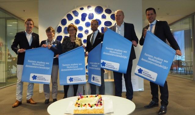 Roderik Reinstra, Annemiek de Goede - van Tiel, Marga de Goeij- van der Klugt, Raimond de Prez Dirk Pons en Björn Lugthart.