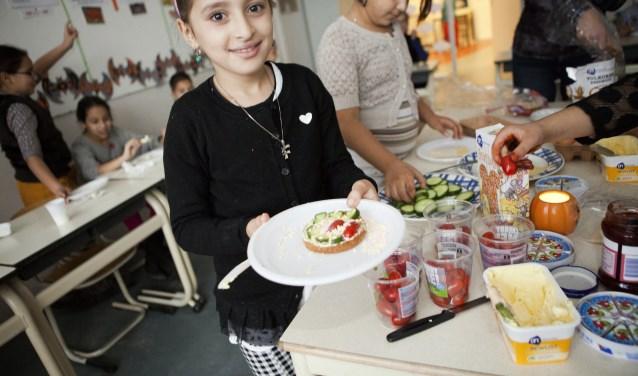 Naar aanleiding van de nieuwe gezondheidscijfers start maandag 19 februari ook de Utrechtse week Gezondheid telt! Gezondheid Telt! is ook samen gezond ontbijten. Foto: Ruth Catsberg