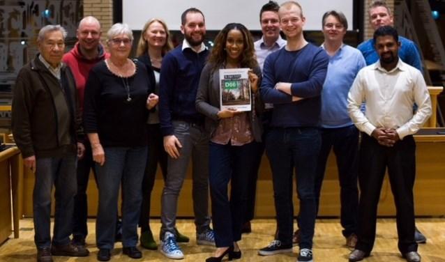 De groep van D66 (Foto: PR)