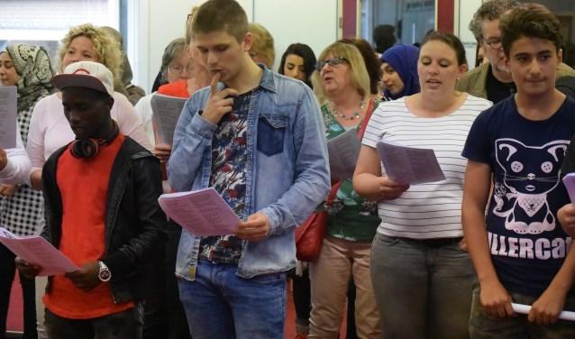 De leerlingen houden allemaal van zingen!