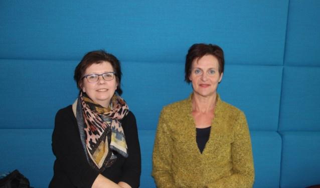 Agnes Mentink en Angela Pigge geloven echt in de meerwaarde van het project van Mijn Erf 2030