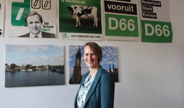 Christine Bel, lijsttrekker D66: 'De noodrem van het raadgevend referendum kan heel waardevol zijn.'