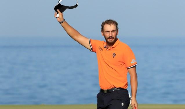 Met de winst in Oman steeg de Bleiswijker naar de 68e plaats op de wereldranglijst. Het doel van Joost Luiten is top 50.  Foto: Golfsupport.nl