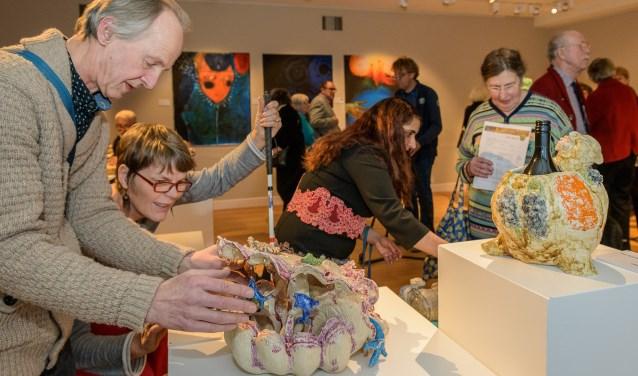 Opening Tentoonstelling Kunst van het Anders Zien Slot