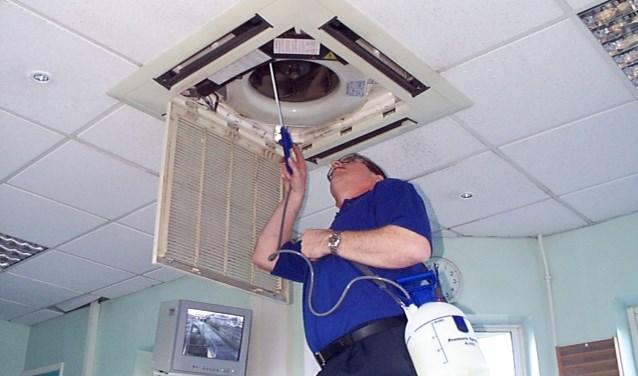 Barneveldse installateurs krijgen wel wat meer storingsmeldingen dan normaal, maar het lijkt erop dat cv installaties en airco's het niet massaal begeven. (Foto: Persbureau Polhuys)