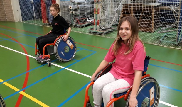 Sporten met een beperking ervaren; een bijzondere sportdag. Eigen foto