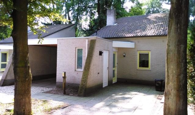 De bungalow op Stolpenheim. Het CDA stelt vragen aan het college.