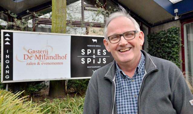 Lauw Uittenbogaard van de Milandhof en Spies en Spijs in Zegveld is vanaf nu ook op zondag geopend. FOTO: Paul van den Dungen