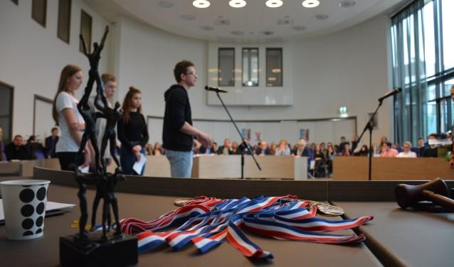 Jongerendebat in 2017. (Foto: gemeente Neder-Betuwe)