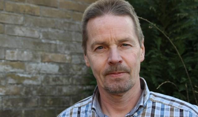 Andre Timmerman wordt het nieuwe gezicht voor de PvdA/GroenLinks in de Nunspeetse gemeenteraad en hij hoopt er niet alleen te zitten zoals de PvdA nu. Foto Dick Baas