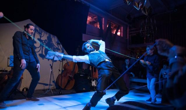 Samen met het publiek een bijzonder moment creëren. Dat is voor Jordy Sanchez de magie van het theater.