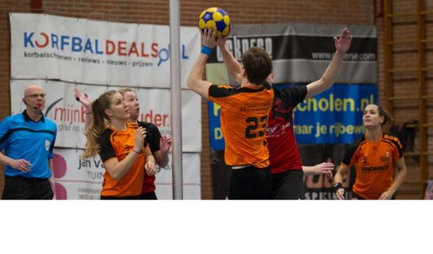 GKVEnomics knokte zaterdag tóch nog terug terug tot een gelijkspel. Foto: Wim den Besten