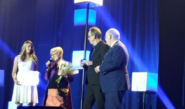 Nieuwegeiner 2017 is voormalig makelaar Betsy de Keizer. Al meer dan vijftig jaar zet zij zich in voor Nieuwegein en heeft daarmee haar sporen dik verdiend. Foto: Louise Mastenbroek