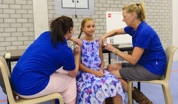 Rivas Zorggroep vaccineert dit jaar weer kinderen tegen DTP, BMR en HPV. Foto: Rivas Zorggroep