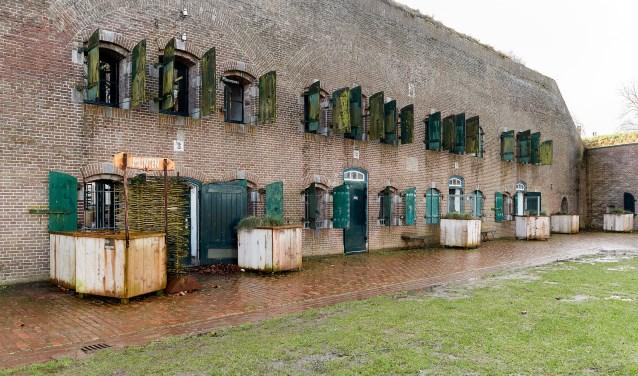 Remise B van Fort Altena gaat opgeknapt worden met de provinciale subsidie. Foto: Wim Hollemans.