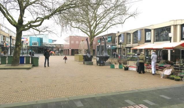 Op het Jorisplein is onder beperkingen meer horeca mogelijk.