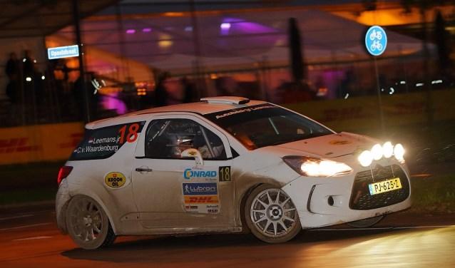 De zelf opgebouwde auto van Roald Leemans is 24 februari te bewonderen tijdens de Circuit Short Rally. Foto: Edwin Hengelman