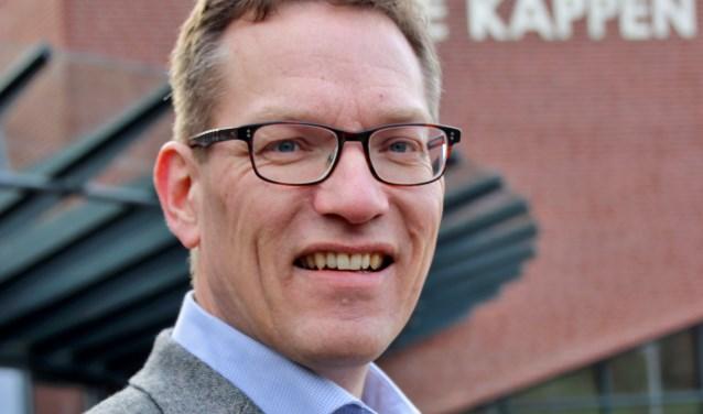 """Gert-Jan Vonkeman: """"Op de middelbare school is door het vak maatschappijleer belangstelling voor de politiek ontstaan. Na het afronden van mijn studie begin jaren 90 heeft dit geleid tot het lidmaatschap van D66."""""""